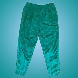 Amazing Vintage 1980s Satin Herem Pants